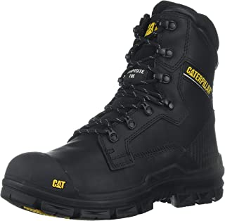 Caterpillar Men's Scaffold Waterproof Nano Toe/Black Industrial and Construction Shoe