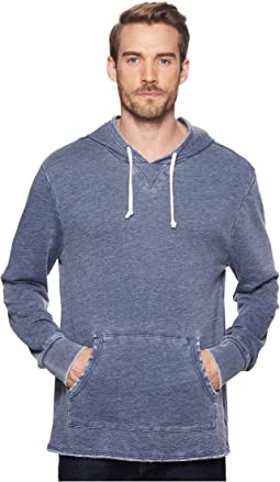 Light French Terry Burnout School Yard Hoodie