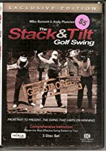 Medicus Stack and Tilt Golf Club Swing (3 Disc Set) Comprehensive Instruction: Master the Most Effective Swing Pattern on Tour