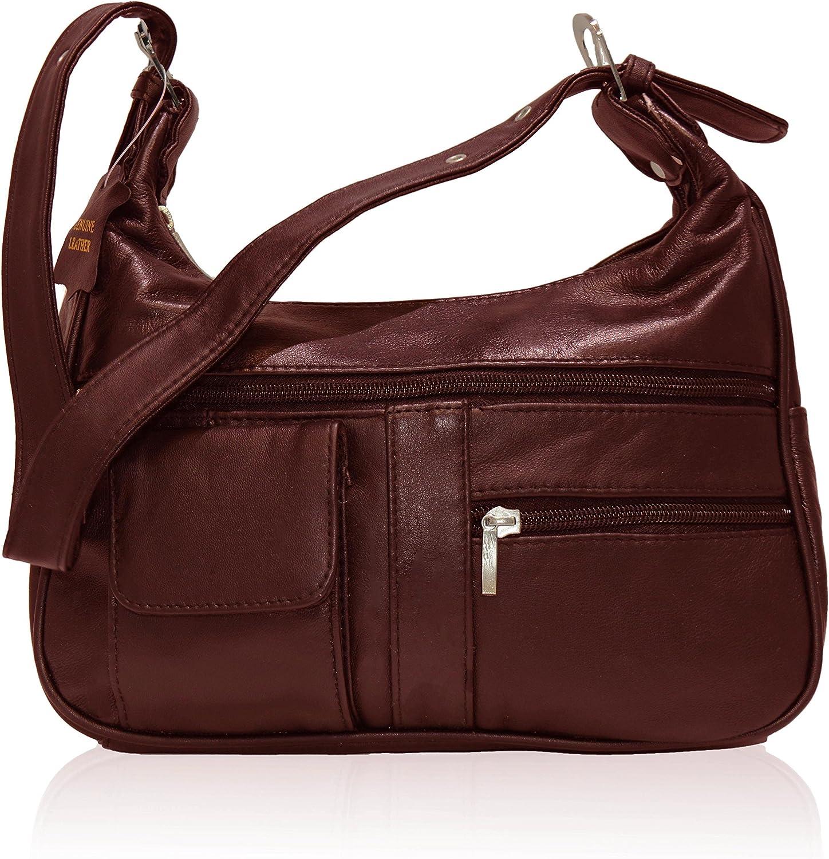 AFONiE Soft Genuine Leather Shoulder Bag