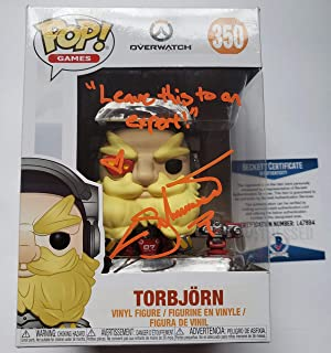 signed overwatch pop