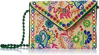 FRESSIA Women's Clutch Handbag Green