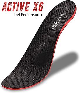 L Alltag SULPO Einlegesohlen gegen Plantarfasziitis /& Fersensporn Arbeit 44-45 EU // 9-11 UK Silikon-Schuheinlagen f/ür M/änner /& Frauen Ideal f/ür Sport B/üro Wandern