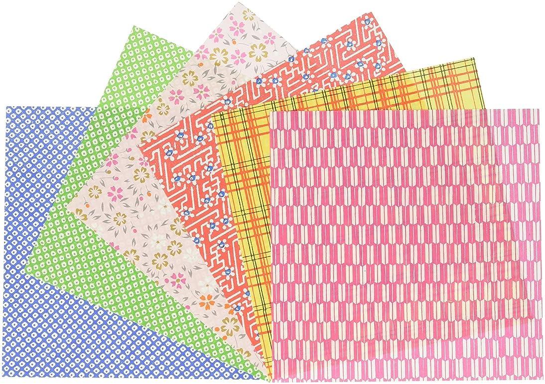 daiyo Origami, Tokuyo Chiyogami (S-Y31), 15 cm x 15 cm, 10 Patterns, 10 Each