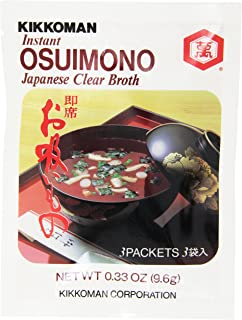 Kikkoman Instant Japanese Clear Broth, Osuimono, 0.33 Ounce