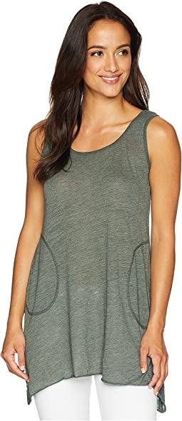 Scoop Neck Angled Tunic