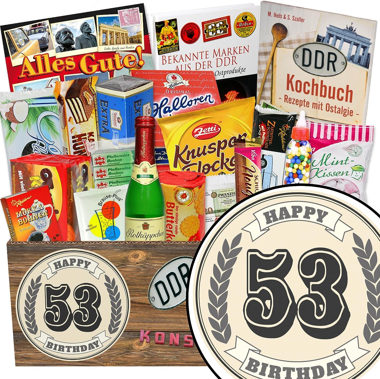 53. Geburtstag   Suessigkeiten DDR   Geburtstags Geschenke Geschenke Geschenke 53 B07DQN8QFW | Good Design  a31303