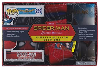 Spider-Man Homecoming Blu-ray/DVD Limited Edition Gift Box