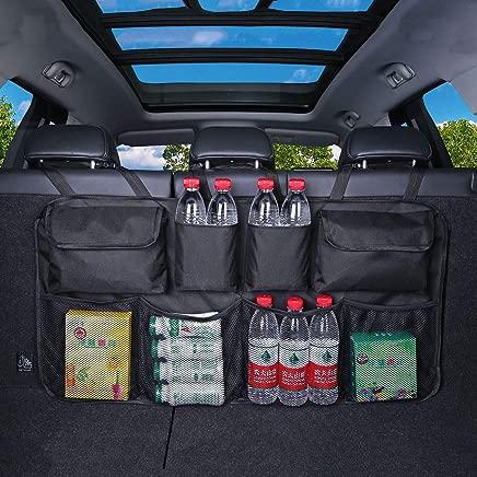 Fifth Gear  Hanging Car Boot Storage Organiser Multi Pocket Back Seat Organiser Waterproof Trunk Organiser with Pockets