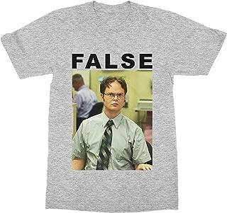 False Dwight Schrute The Office T-Shirt (Men)