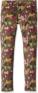 DKNY 大女童迷彩机图案牛仔裤
