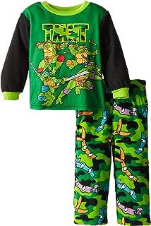 Teenage Mutant Ninja Turtles Little Boys' Camo Masks Cozy Fleece Pajama Set by Nickelodeon