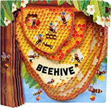 Beehive (Happy Fox Books) One-of-a-Kind Board Book Teaches Kids Ages 2 to 5 about Bees, Exploring More Deeply into a Hive with Every Turn of the Page; Educational Facts, Vocabulary Words, and More