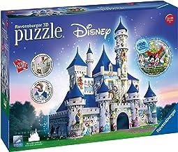 Ravensburger Disney Castle 3D Puzzle 216pc,3D Puzzles