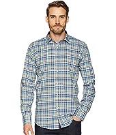 Shaped Fit Plaid Woven Shirt