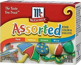 McCormick Assorted Food Color, 0.25 Fl. Oz (4 Count)