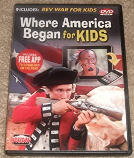 Where American Began for Kids, DVD