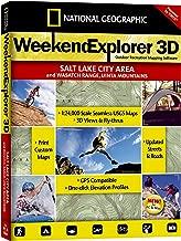 National Geographic TOPO! Weekend Explorer 3D Salt Lake City Area/Wasatch Range/Uinta Mountains Map CD-ROM (Windows)