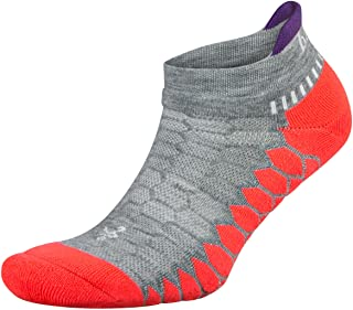 Balega Unisex-Adult Silver Antimicrobial No-show Compression-fit Running Socks for Men and Women (1 Pair)