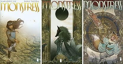 Monstress Issue 1-3 Set - Bundle of Three (3) Image Comics