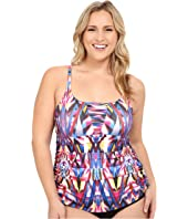 BECCA by Rebecca Virtue - Plus Size Becca ETC Aura Skirted One-Piece