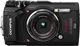 OLYMPUS Tough TG-5 black 12 million pixel CMOS F2.0 15m waterproof 100kgf load-bearing GPS + electronic compass and built-in Wi-Fi TG-5 BLK(Japan Import-No Warranty)
