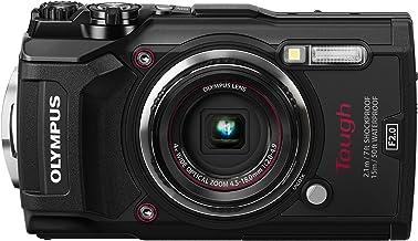 Olympus TG-5 - Cámara Digital (ultraresistente, Sumergible, vídeos en 4K, 4 Modos de Macro, WiFi Integrado), Negro