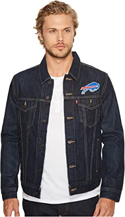 Bills Sports Denim Trucker