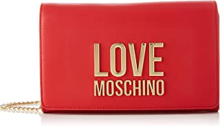 Love Moschino SS21, Sac l'paule Femme, Rouge, Taille Unique