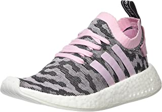NMD_R2 Pk Womens Running Trainers Sneakers (UK 6 US 7.5 EU 39 1/3, Wonder Pink White Black BY9521)