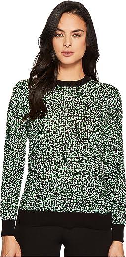 MICHAEL Michael Kors - Reptile Print Sweater