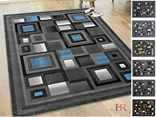 Best blue abstract squares Reviews