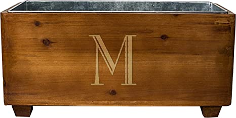 Cathys Concepts Personalized Rustic Wine Rack