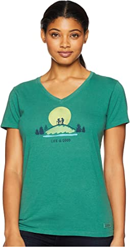 Vista Hike Crusher Vee T-Shirt