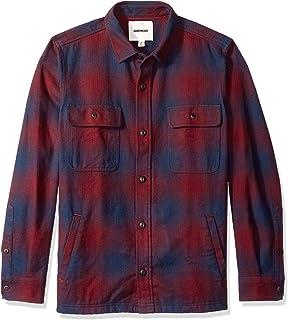 Amazon Brand - Goodthreads Men`s Heavyweight Flannel Shirt Jacket