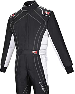 /Kart Hobby Overall/ /Tuta da corsa /Karting Suit/ /tuta da kart nera//bianca/ Speed