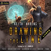 Drawing the Line: Underhill Chronicles, Book 2