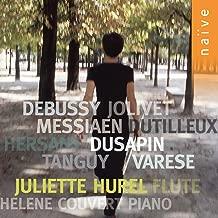 Debussy: Syrinx - Varèse: Densité 21.5 - Dutilleux: Sonatine pour flûte et piano - Jolivet: Chant de Linos - Messiaen: Merle noir