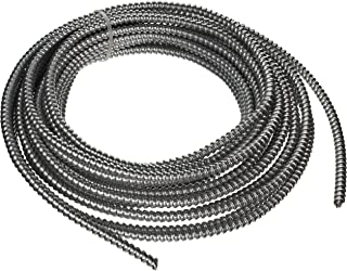 Southwire 68579222 14/2 Type 50-Feet 14-Gauge 2 Conductors MC Solid Metal Clad Cable with Aluminum Armor and Green Insulated Ground Wire
