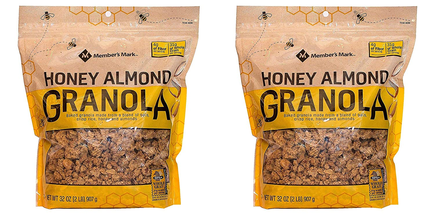 Member's Mark Expect Outlet ☆ Free Shipping more Honey Direct sale of manufacturer Almond of 4 . Pack lb Granola