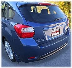 C&C Car Worx Rear Bumper Cover Guard Protection Pad for 2012-13-14-15-16 Subaru Impreza 5-Door Hatchback