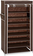 Best Choice Products 9-Tier 40 Shoe Storage Rack with Dust Cover and 6.5