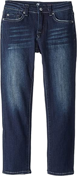 7 For All Mankind Kids Slimmy Jeans in Los Angeles Dark (Little Kids/Big Kids)