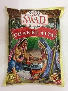Great Bazaar Swad Chapatti Chakki Flour, 4 Pound