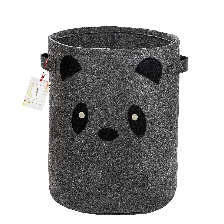 Felt Fabric Small All stores are sold Panda Baby Hamper - Woodland Decor K Nursery Oakland Mall