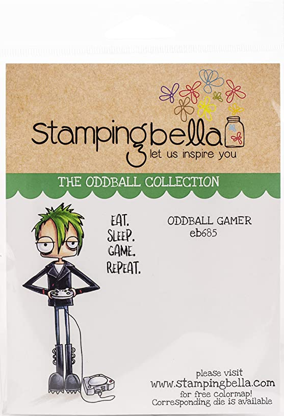 Stamping Bella EB685 Cling Stamps, Oddball Boy Graduate
