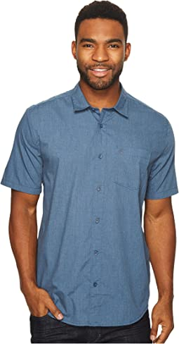 Volcom - Everett Solid Short Sleeve Woven