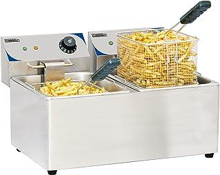 Casselin CFE82 - Friteuse électrique 2 x 8 litres