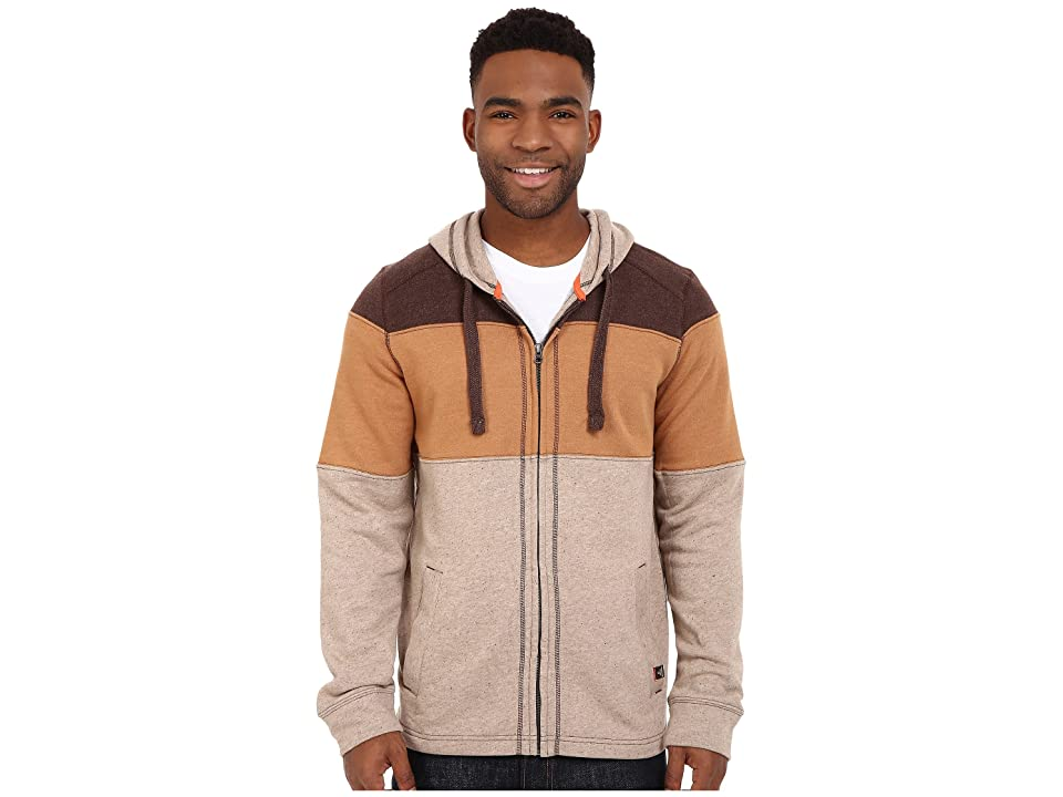 Prana Jax Full Zip (Mud) Men