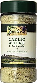 Olive Garden Garlic & Herb Italian Seasoning 4.5oz Bottle (Pack of 3)